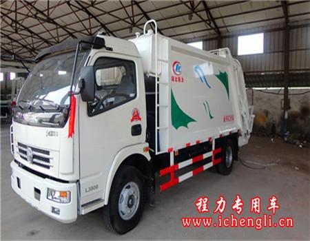 东风多利卡压缩式垃圾车(8立方)
