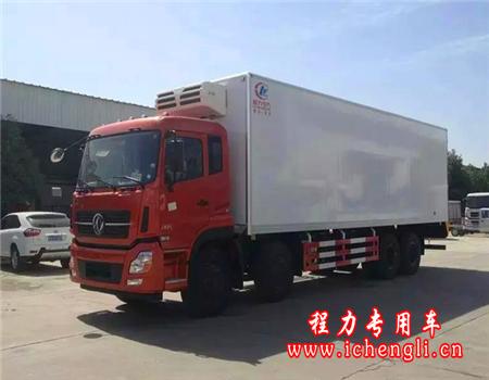 东风天龙前四后八冷藏车(厢长9.4米)