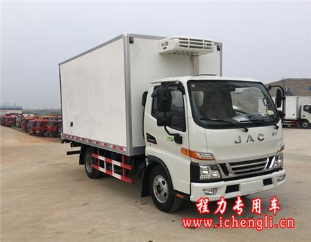 江淮骏铃V5冷藏车(厢长4.2米)
