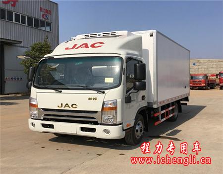 江淮帅铃单排冷藏车(厢长4.2米)