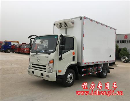 大运单排冷藏车(厢长4.2米)