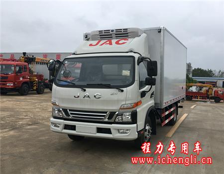 江淮骏铃冷藏车(厢长5.2米)