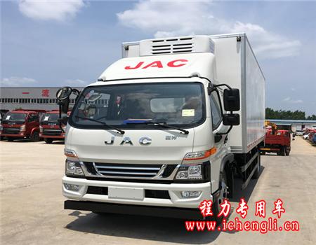 江淮骏铃V7冷藏车(厢长6.2米)