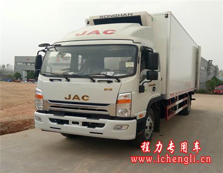 江淮威司达冷藏车(厢长7.6米)