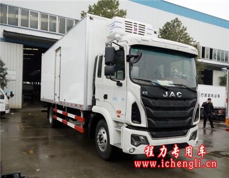 江淮格尔发K5冷藏车(厢长6.2-6.8米)
