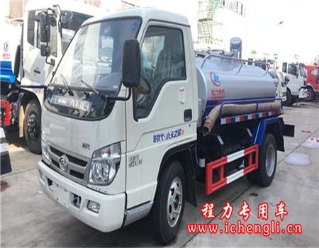 福田吸粪车︱3吨吸粪车