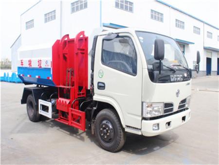 东风多利卡5方挂桶式垃圾车(国五)