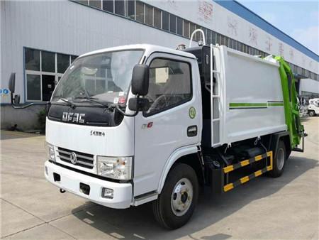 东风多利卡5方压缩式垃圾车(国五)