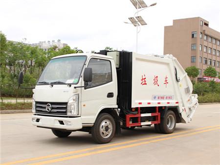 凯马4方压缩式垃圾车(国五)