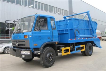 东风153摆臂式垃圾车(12立方)