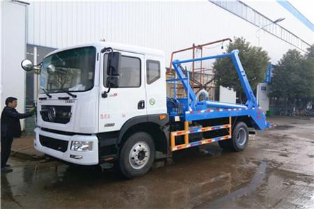东风D9摆臂式垃圾车(10-12立方)