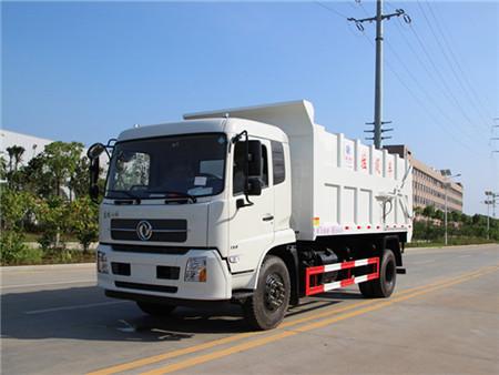 东风天锦对接式垃圾车(18立方)