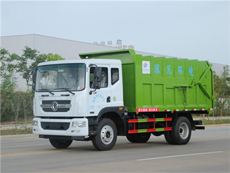 东风D9对接式垃圾车(12-15立方)