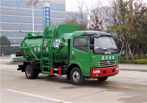 东风大多利卡餐厨垃圾车(5-6立方)