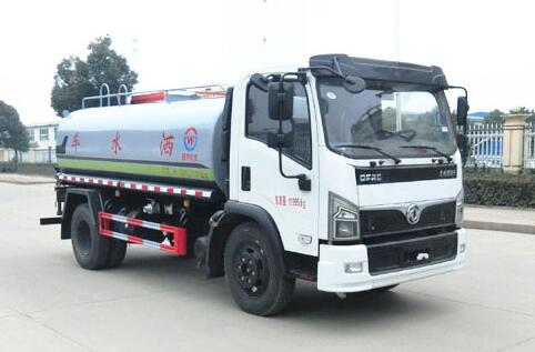 东风多利卡9.5吨洒水车(国六)
