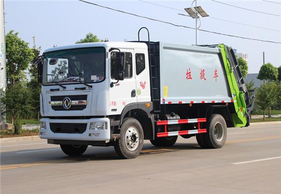 东风D9压缩式垃圾车10方(国六)