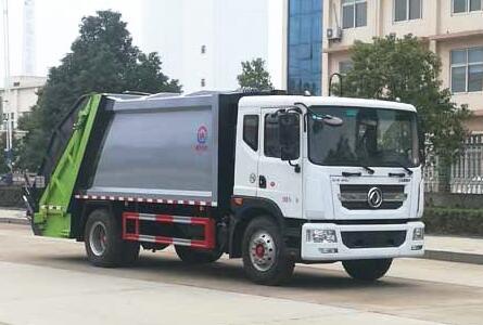东风D9压缩式垃圾车12方(国六)
