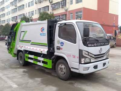 东风多利卡压缩式垃圾车5方(国六)