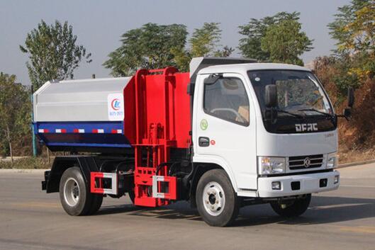 东风多利卡挂桶式垃圾车5方(国六)
