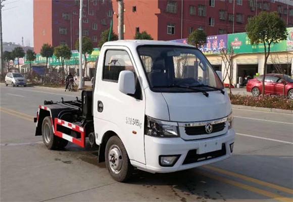 东风途逸勾臂式垃圾车2-3方(国六)