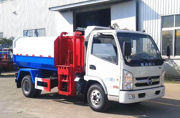 凯马挂桶式垃圾车3-4方(国六)